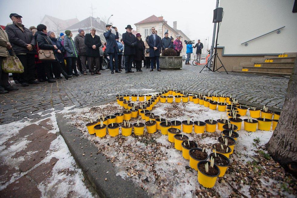 Slavnostní otevření ulice Bradyových v Novém Městě na Moravě.