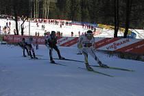 Nové Město je tradičním pořadatelem vrcholných lyžařských závodů.