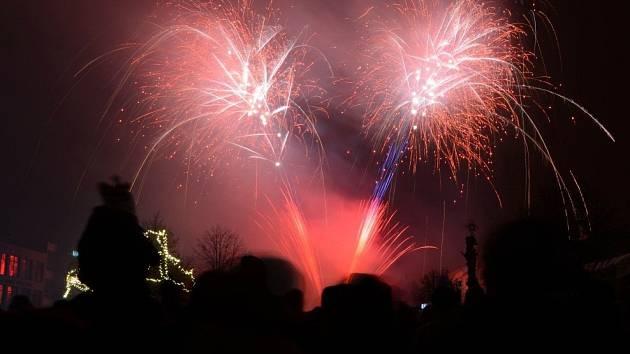 Ve Žďáře nad Sázavou budou mít ohňostroj opět až na Nový rok. Stejně tak ve Velkém Meziříčí a Velké Bíteši.