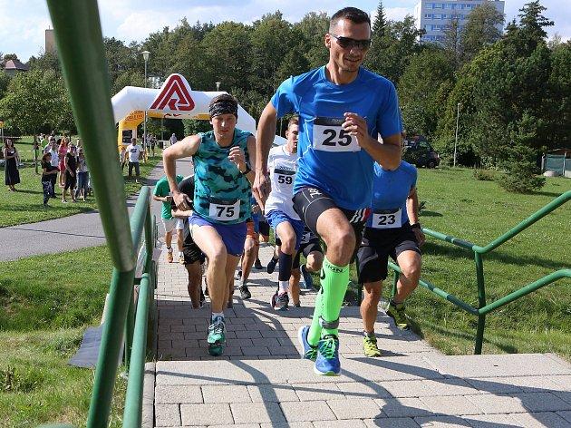 V sobotu 8. září se konal třetí ročník Žďárských schodů v parku Farská humna ve Žďáře nad Sázavou