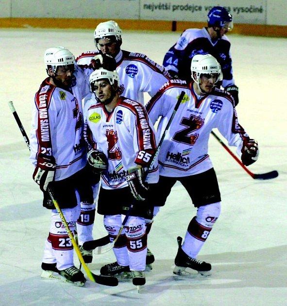 Hokejisté Žďáru hodlají v krajském přeboru triumfovat. To je neotřesitelná ambice SKLH.