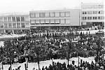 Listopad 1989 ve Žďáře nad Sázavou.