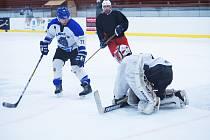 """Také Bystřická hokejová liga nezůstala stranou aktuálního dění. """"Plynule reagujeme na to, co se děje okolo nás,"""" řekl po předčasném ukončení ročníku šéf BHL Martin Svoboda."""