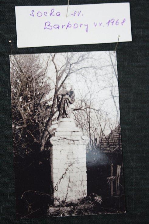 Svatá Barborka na fotografii z roku 1968.
