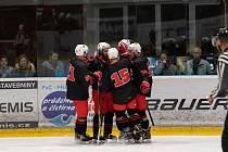 O svém vysokém vítězství 8:4 nad Valašským Meziříčím rozhodli hokejisté Žďáru nad Sázavou výtečnou druhou třetinou.
