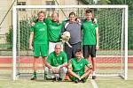Po polovině letošního ročníku nejvyšší soutěže Žďárské ligy malé kopané jsou na čele tabulky fotbalisté Kozel Teamu. Že by přidali do sbírky už svůj šestý titul?