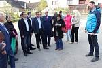 Setkání s občany Brzkova