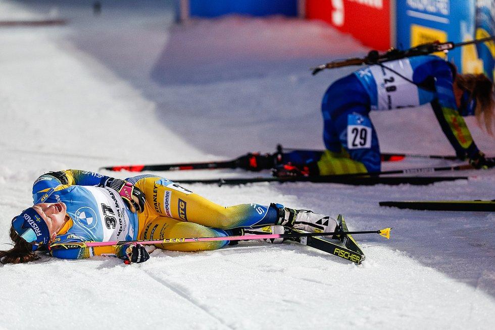 Závod Světového poháru v biatlonu - stíhací závod žen na 10 km.