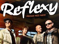 Zlínská pop-rocková kapela Reflexy zamíří během svého turné i do Netína. Ve tamním kulturním domě představí písničky z  nového alba s názvem Proud mezi námi. Koncert se uskuteční v neděli 7. května.