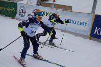 Ve Vysočina Areně v úterý zápolili v běhu na lyžích žáci základních škol v projektu Lyžuj lesy.