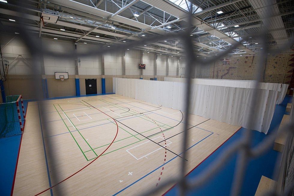 Sportovní hala v Novém Městě na Moravě.