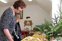 Vánoční výstavu v Obyčtově věnovali rybám.
