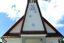 Obřad vysvěcení kaple.