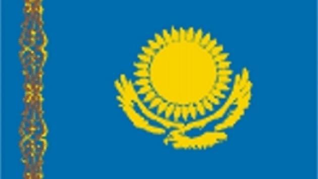 Kazachstán - vlajka