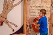 Výstava Leonardo začne 1. února.