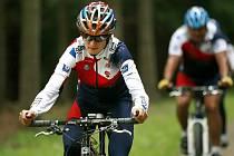 NowiS Team s Martinou Sáblíkovou trénuje u Nového Města na Vancouver