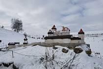 Bystřický park miniatur láká k procházkám i v zimě