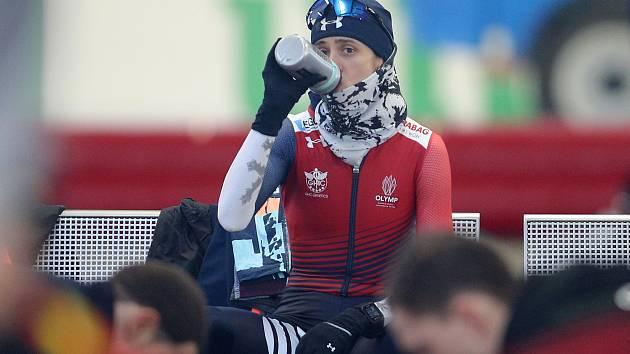 Martina Sáblíková na tréninku.