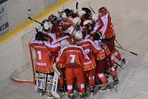 Žďárské Plameny zakončily osmifinalovou sérii s Děčínem jasnou výhrou 5:1.