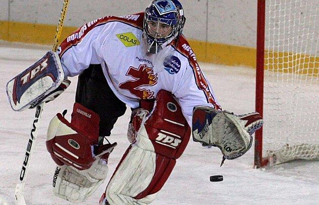 Jiří Sláma vydržel na ledě do 37. minuty.
