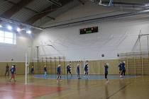 Nová sportovní hala v Novém Veselí.