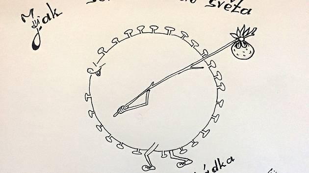 """Radek Chodura podepisuje své vtipy písmenem E. """"E jako Ementál. To je moje trampská přezdívka,"""" vysvětluje."""