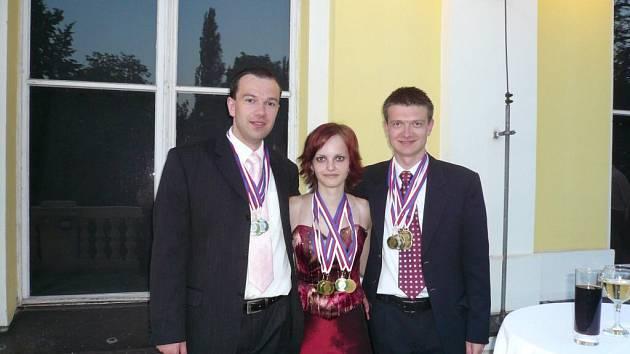 Jednu stříbrnou a tři bronzové medaile si z Mistrovství světa ve zpracování textu přivezla bystřická rodačka Petra Kinclová.