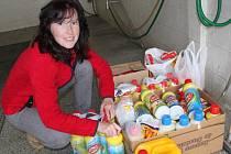 Žďárská oblastní charita nabídla obcím a větším společnostem na Žďársku možnost uspořádat humanitární sbírky menšího rozsahu. Lidé nosili zejména dezinfekční prostředky.