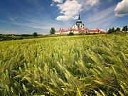 Poutní kostel svatého Jana Nepomuckého na Zelené hoře, památka UNESCO.