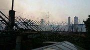 Požár zapříčinila nedbalost při pálení. Foto: archiv HZS Kraje Vysočina