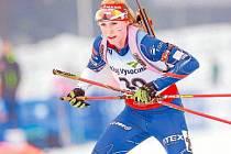 Novoměstská biatlonistka Anna Tkadlecová si pochvalovala skvělou atmosféru ve Vysočina Areně. Po skončení šampionátu přiznala, že by v kariéře chtěla prožít i ještě něco většího.