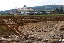 Zemní práce začaly v lokalitě Klafar na konci léta. Sítě mají být kompletně hotovy v červnu.