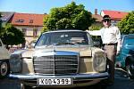 Automobilové veterány jsou o pouti v Bystřici už dlouholetou tradicí.