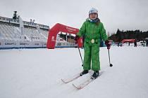 Amatérské závody s názvem Strabag Ve stopě Zlaté lyže v Novém Městě na Moravě navazují na klasické závody Zlatá lyže.