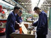 Den otevřených dveří u příležitosti 65. výročí zahájení zahájení výuky v pracovišti ve Strojírenská žďárské střední průmyslové školy (bývalé odborné učiliště podniku Žďas).