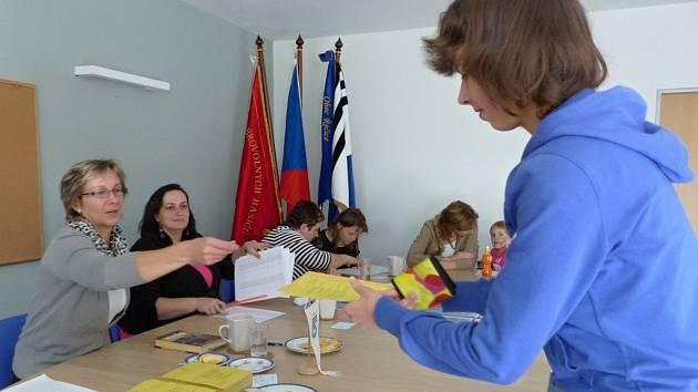 Do volební komise zasedlo v Řečici sedm maminek.