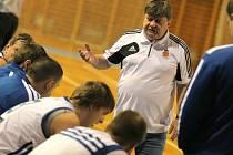 Trenér Žďáru Jaroslav Sedlák měl o víkendu ke spokojenosti daleko.