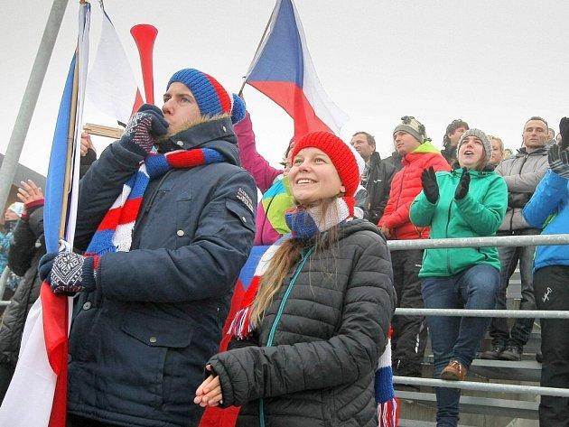 Biatlonová euforie v Novém Městě na Moravě není jen na top akcích. Krásnou atmosféru měly i závody druhořadého IBU Cupu.