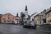 Kostel svatéh Prokopa ve Žďáře.