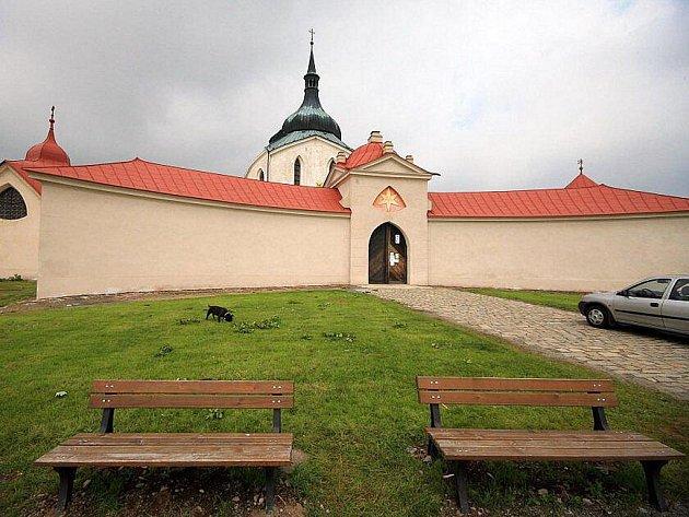 Zelená hora ve Žďáře nad Sázavou.