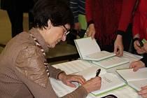 Spisovatelka Věra Rudolfová už napsala šest knih medailonků osobností z Vysočiny.