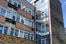Budova gynekologie byla vystavěna v sedmdesátých letech minulého století.