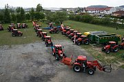 Spanilá jízda traktorů projela Novým Městem před dvěma lety. Letos vyjede znovu.