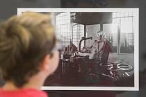Výstava Sdružení výtvarných umělců a teoretiků na Staré radnici ve Žďáru nad Sázavou.