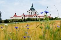 Symbolem Žďárska je kostel svatého Jana Nepomuckého, památka UNESCO.