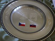 Češi a Slováci zpečetili vzájemnou družbu.