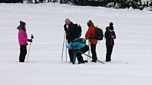 Vysočina zažívá nájezdy Brňanů. Láká je bílá stopa