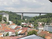 Dálniční most Vysočina u Velkého Meziříčí.