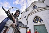 Kostel svatého Jana Nepomuckého na Zelené hoře ve Žďáru nad Sázavou byl 23. října 2021 po generální opravě znovu požehnaný při mši..