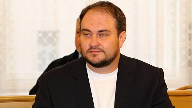 Martin Vosyka na lavici obžalovaný u Krajského soudu v Brně